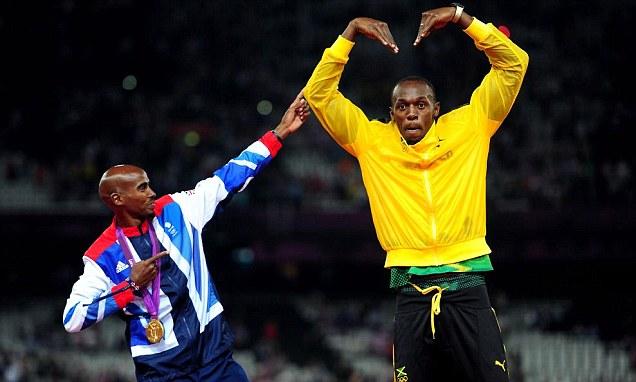 Mo Farah will dance a Highland jig with Usain Bolt if he ...