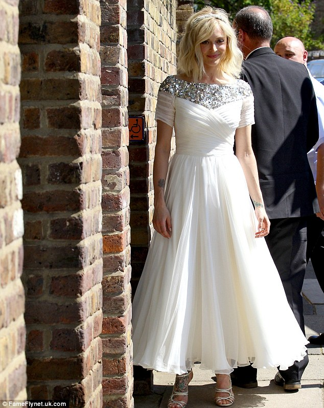 Fearne Cotton Dazzles In A Sparkling Wedding Dress As She