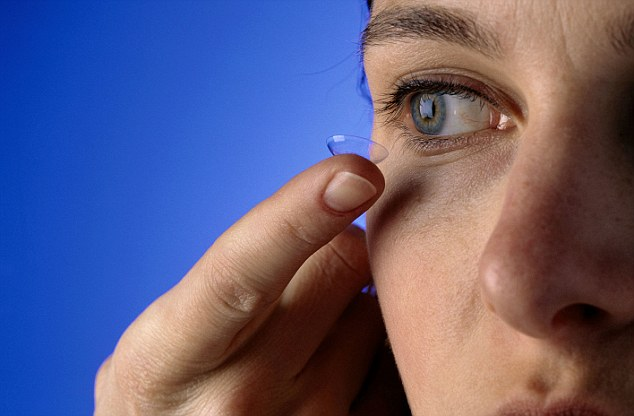 Image result for Don't wear Contact lenses while travelling