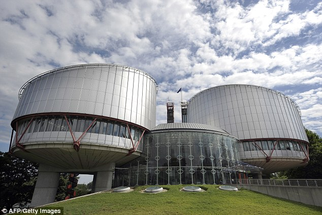 Conclusion: The European Court of Human Rights (pictured) based its ruling that a burka ban does not breach human rights on a test case from France