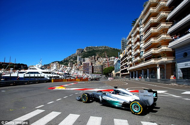 Billionaire race boss Bernie Ecclestone believes a London Grand Prix could become the most iconic race in the motorsport calendar - supplanting Monaco as the jewel in the F1 crown