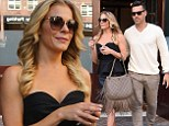 She's a country girl at heart! LeAnn Rimes clutches a tasseled designer handbag as she and Eddie Cibrian promote new reality series