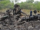 Tragedy: Over 300 people were killed when the Malaysian Airlines plane crashed over Ukraine on Thursday