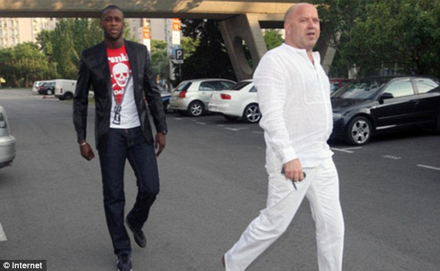 Image result for pic of Dimitri Seluk and yaya toure