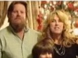 Loss: Wayne Beale, left with his wife Joni and four of their children, had a heart condition that prevented him from getting life insurance. Mr Beale, who worked in construction, passed away on Sunday