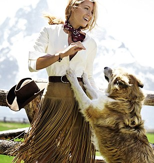 Blake Lively - VOGUE August 2014