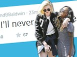 So, is it over? Ireland Baldwin and Angel Haze post cryptic tweets hinting at bitter feelings