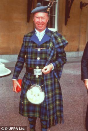 Ex-lover: Sir Nicholas Fairbairn had links to paedophile politicians