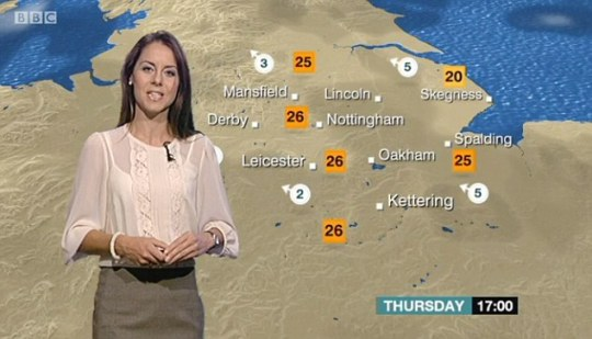 Why does the BBC waste your money on so many weather forecasters     Kaye Forster discusses the East Midlands