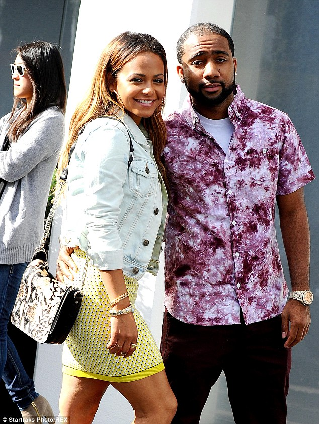 Its over: The 32-year-old called off her engagement to Jas Prince in June, seen here together in February