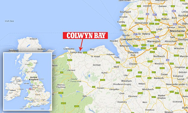 Image result for colwyn bay map