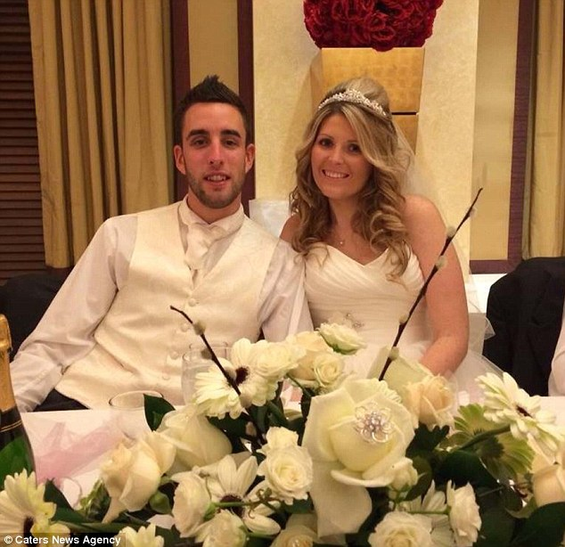 In November, the couple were told her caner was terminal and she had just weeks to live. They married within five weeks, on January 3rd - three days before Mrs Weston began chemotherapy