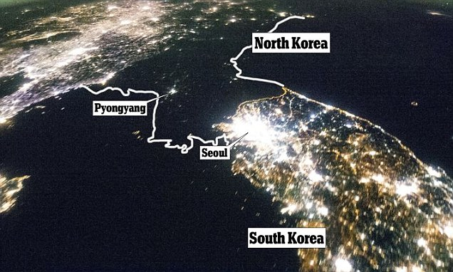 North Two China Border Countries What