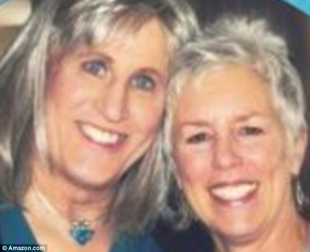 Mrs Fabian (left) says she has learned to be satisfied with her supportive partner Deborah after she underwent a sex change following 20 years of marriage