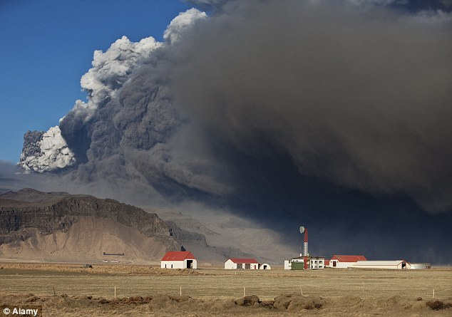 Chaos: The Eyjafjallajokull volcano erupted in 2010, creating massive disruptions for air travellers