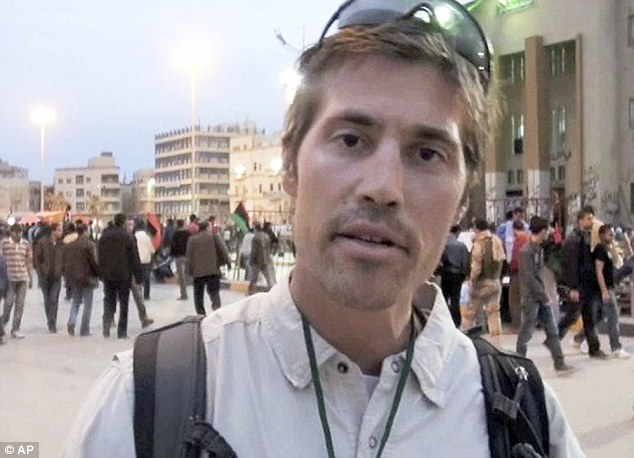 Horrific: James Foley was brutally murdered by ISIL. Dare disgustingly gloated on social media at his execution