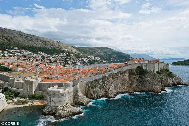 Double take: Portion of picturesque Dubrovnik double for fictioonal Game Of Thrones citadel King's Landing