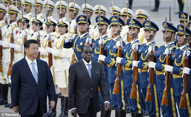 Image result for mugabe with china partners