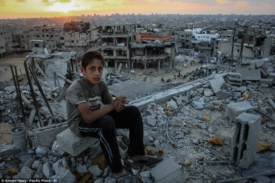 Image result for bombed out gaza