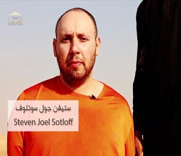 Beheaded: ISIS have released a video showing the beheading of American journalist Steven Sotloff