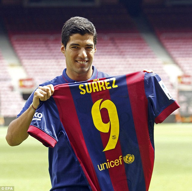 Controversial: Luis Suarez left Liverpool after a series of incidents overshadowed his fine goal scoring record