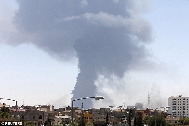 Fears: Nearly a dozen commercial planes are missing in Libya after a radical Islamic group overtook the international airport in the capital of Tripoli late last month.