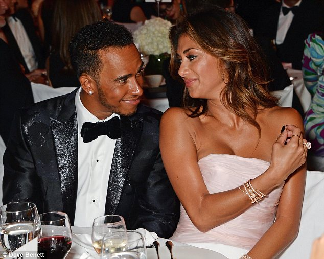 Nicole Scherzinger And Lewis Hamilton Cant Keep Their