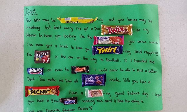 Greatest Fathers Day Card Ever Australian Daughter