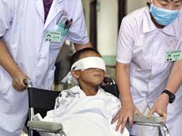 Tragic: Fernando Caleb Alvarado Rios, boy's eyes ripped-off with spoon by his mother and five relatives for rituals - ozara gossip