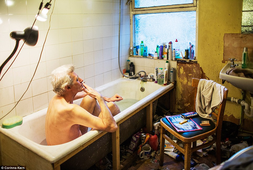 Photo Series Chronicles Life Of Compulsive Hoarder George