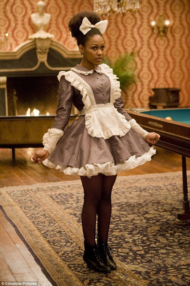 The actress in her role as house slave Coco Quentin Tarantino's 2012 film Django