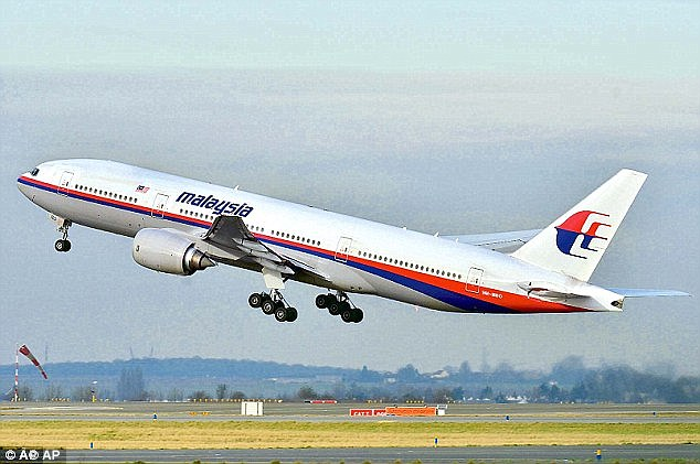 General Sutarman was quoted as saying: 'I spoke to the Malaysian Police Chief Tun Mohammed Hanif Omar. I actually know what had actually happened with MH370,'in front of airline officials and senior police