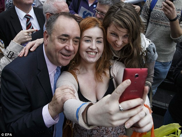 Mr Salmond also hopes for an independent Scotland to join Common Travel Area (CTA) which allows free movement between the UK, Ireland, the Channel Islands and the Isle of Man