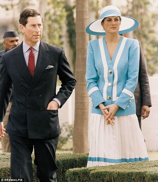 Diana refused to attend the prize-giving ceremony in Jaipur, but was convinced to change her mind by Mr Arbiter and private secretary Peter Westmacott