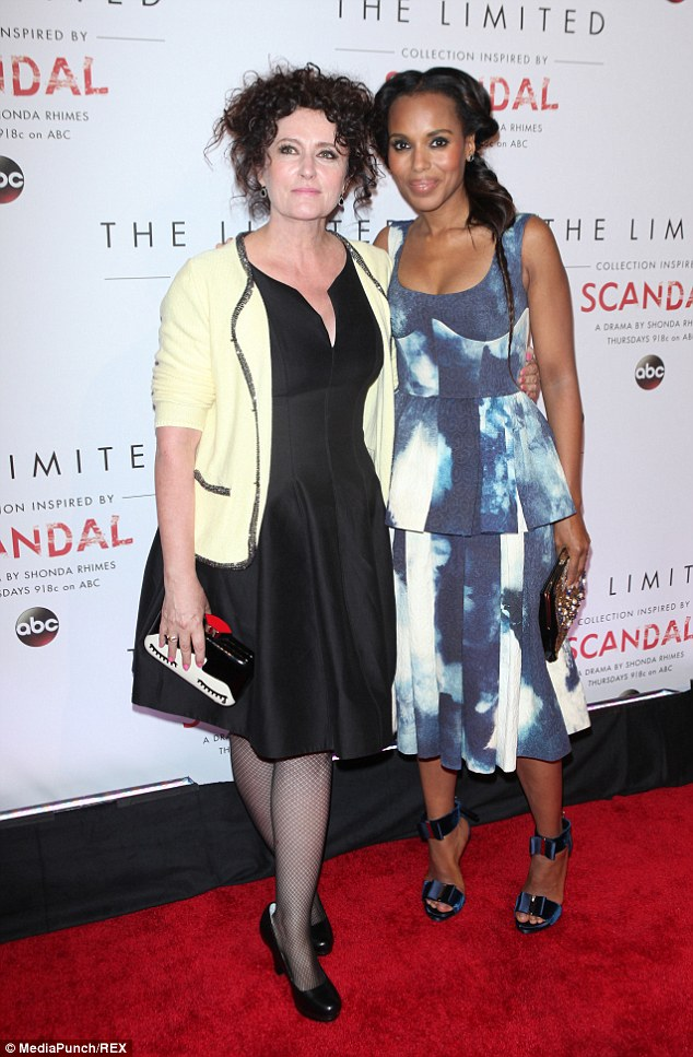 Team effort: The actress partnered up with Scandal's costume designer Lyn Paolo to create the new line