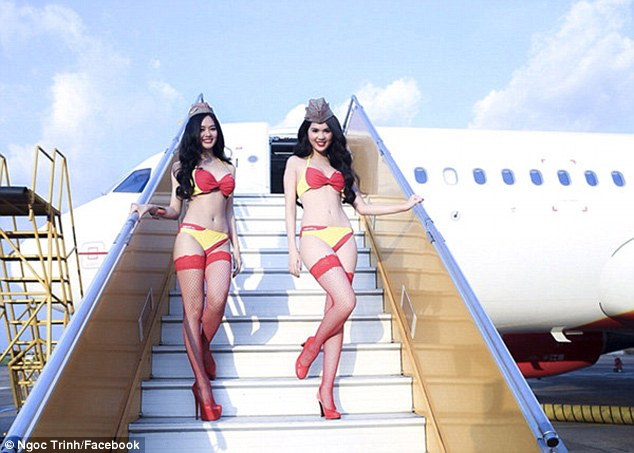VietJet Air claimed that photos of models in airline colours were not part of an official advertising campaign