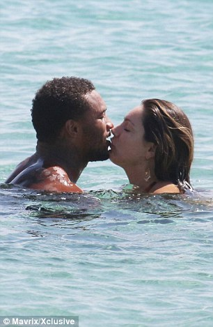 Kelly Brook Puts On Passionate Display With Fianc David