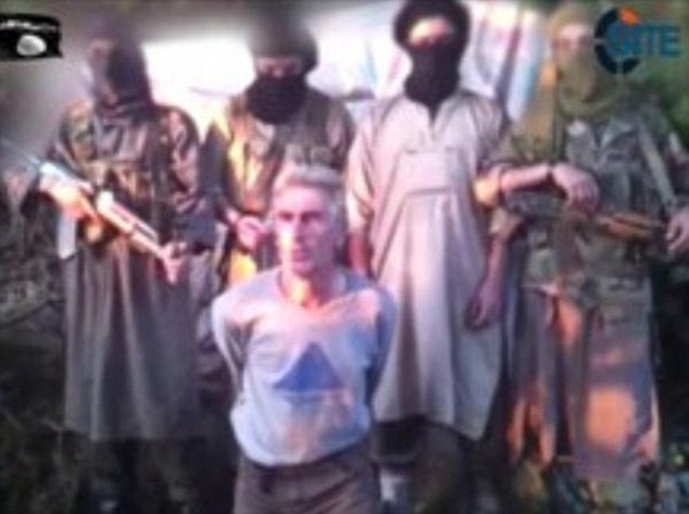 Execution: ISIS-linked militants in Algeria have beheaded French tourist Herve Gourdel after he was captured at the weekend. The group earlier made threats to kill Mr Gourdel if France did not stop bombing targets in Iraq