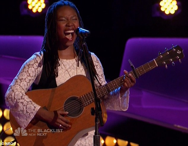 She's back: Anita Antoinette returned to The Voice and landed on Gwen's team
