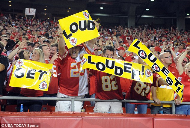 Kansas City Chiefs supporters at Arrowhead Stadium broke the world record for loudest outdoor sport venue