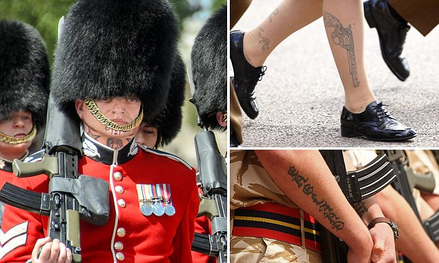 British Army Lifts Ban On Hand And Neck Tattoos After
