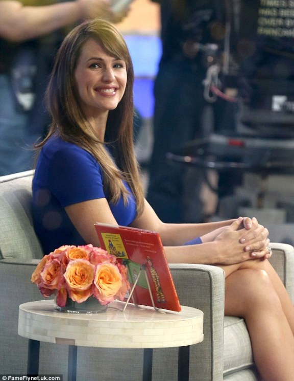 Speaking out: Jennifer also made an appearance on Good Morning America that same day