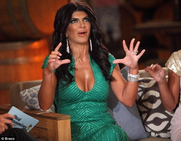 Real Housewives Teresa Giudice Arrives Over Four Hours