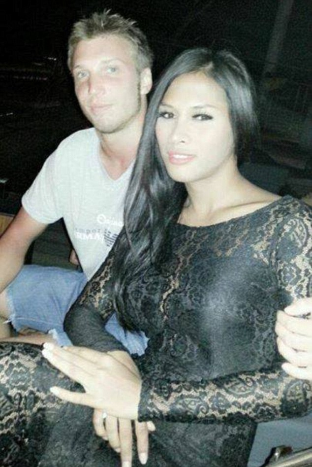 Friends have revealed Marcus Volke (pictured here with Mayang Prasetyo) was a male prostitute, not a chef as previously reported