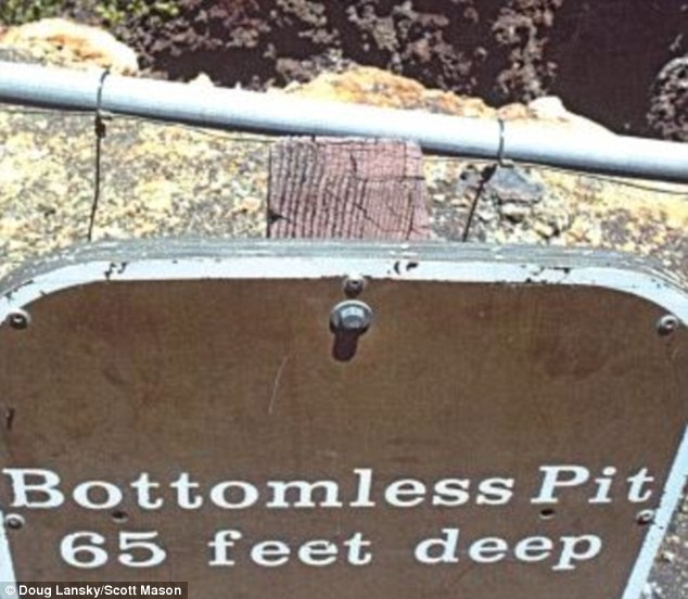In Maui, Hawaii, the definition of the word 'bottomless' clearly means 65 feet