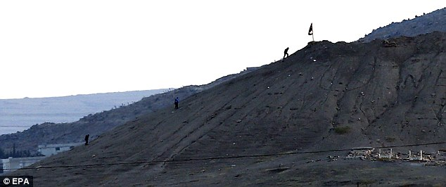 ISIS takes control of the hill that overlooks the city of Kobane, ozara gossip