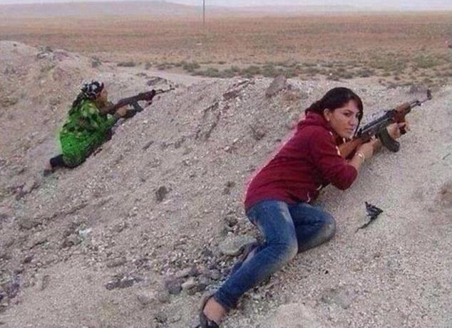 Young and old women in Kobani fighting ISIS | ozara gossip