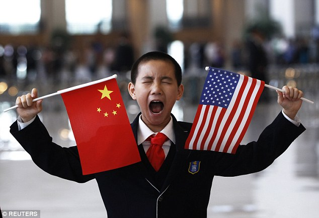 Economic battle:The International Monetary Fund has indicated that China, and not the US, is now the biggest economy in the world