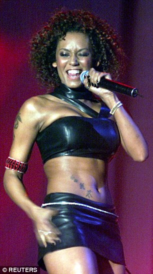 X Factors Mel B Looks Increasingly Like Her Friend