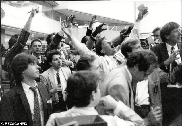 Image result for black monday london stock exchange